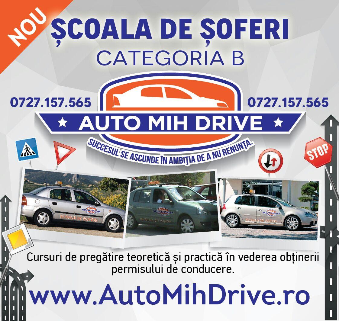 Scoala de soferi AUTO MIH DRIVE